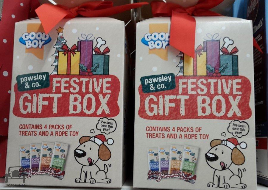 Weihnachtspräsentbox Für Hunde